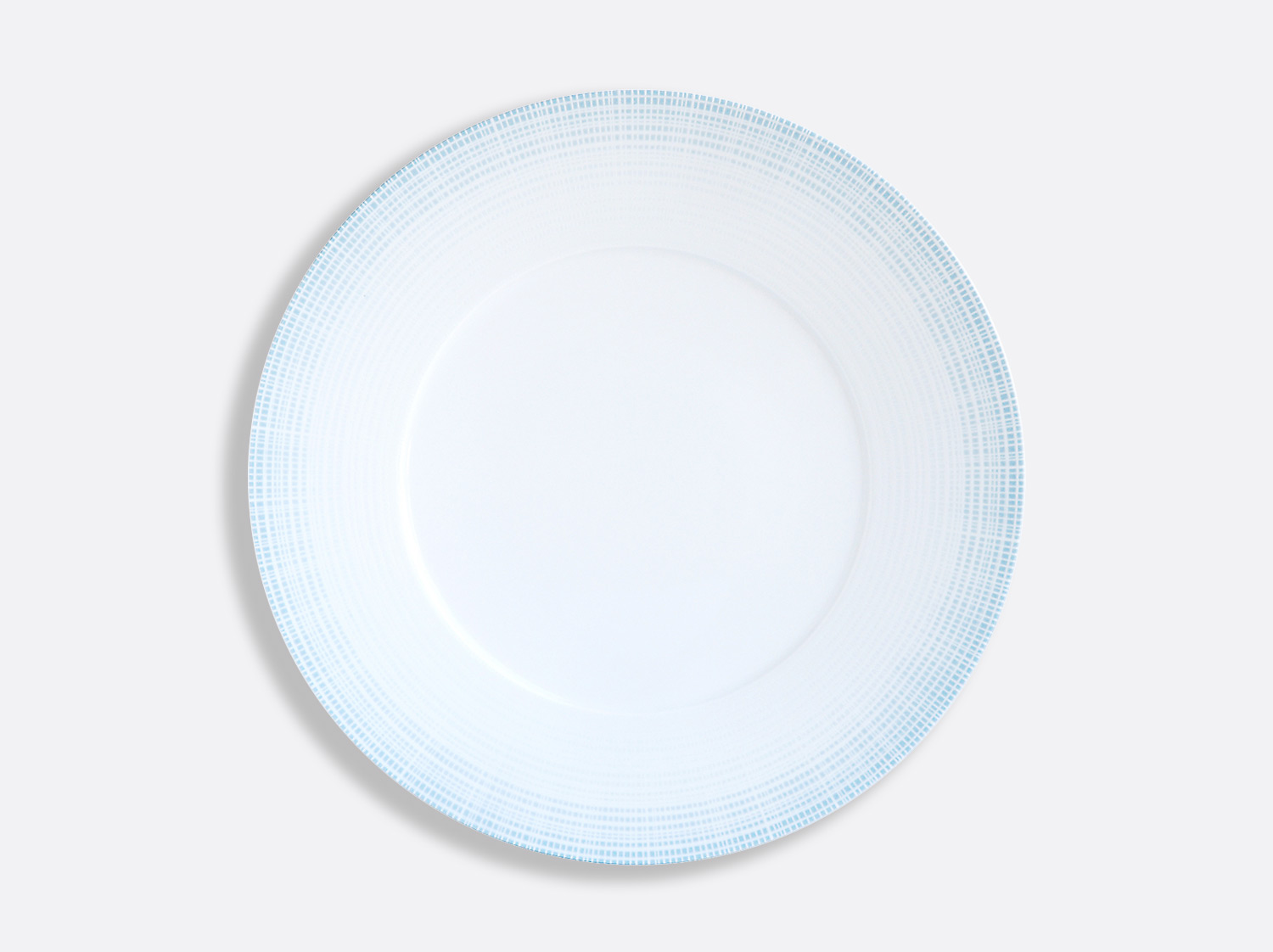 China Plate 29.5 cm of the collection Saphir Bleu | Bernardaud