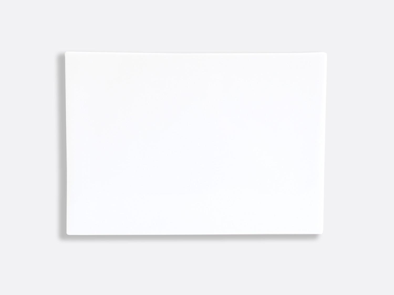 Planche rectangulaire 35 x 25 cm en porcelaine de la collection Fusion Bernardaud