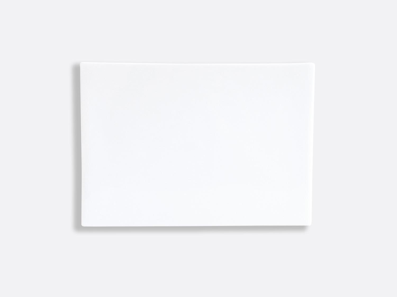 Planche rectangulaire 27 x 19 cm en porcelaine de la collection Fusion Bernardaud