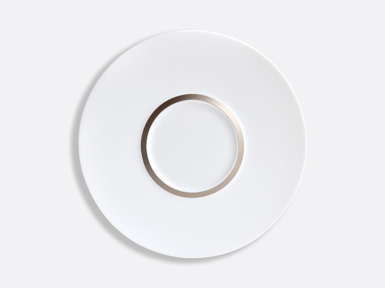 China Shogun plate 26 cm of the collection Cronos Platine | Bernardaud