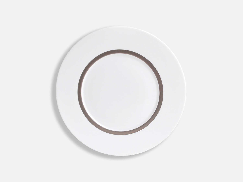 China Astre plate 21 cm of the collection Cronos Platine | Bernardaud