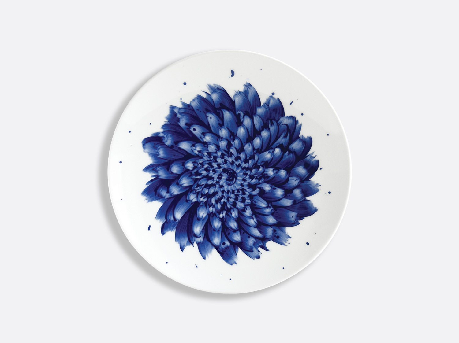 Assiette coupe 21 cm en porcelaine de la collection IN BLOOM - Zemer Peled Bernardaud