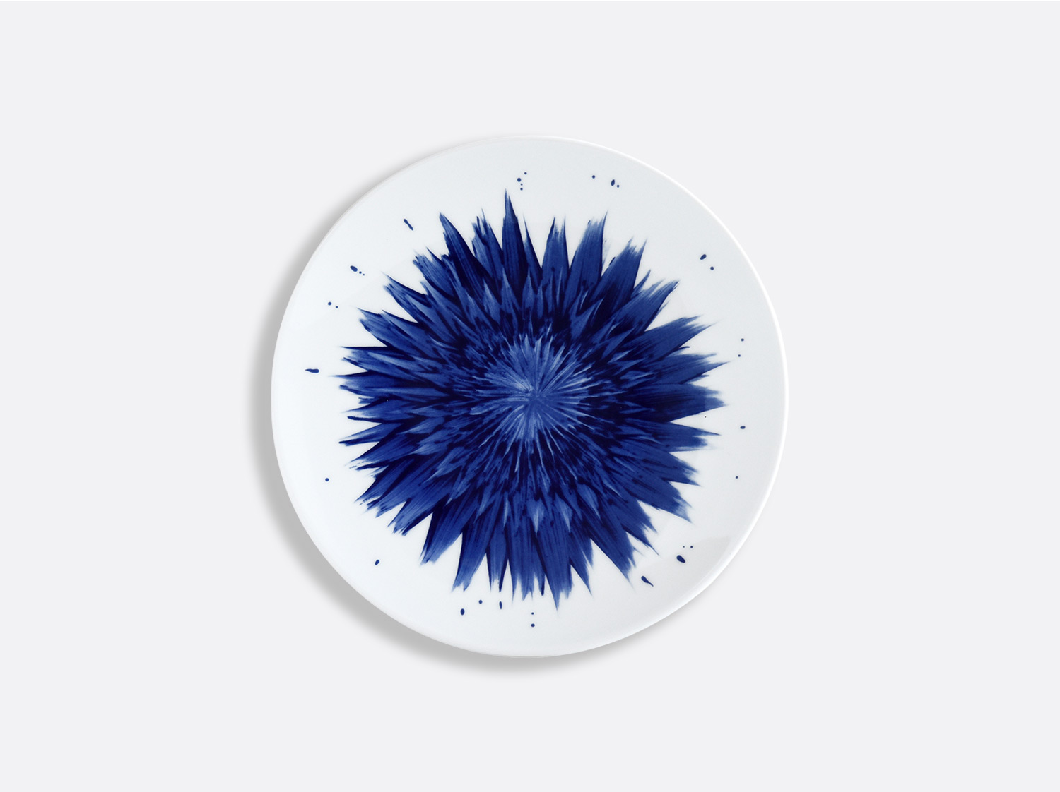 Assiette coupe 16 cm en porcelaine de la collection IN BLOOM - Zemer Peled Bernardaud