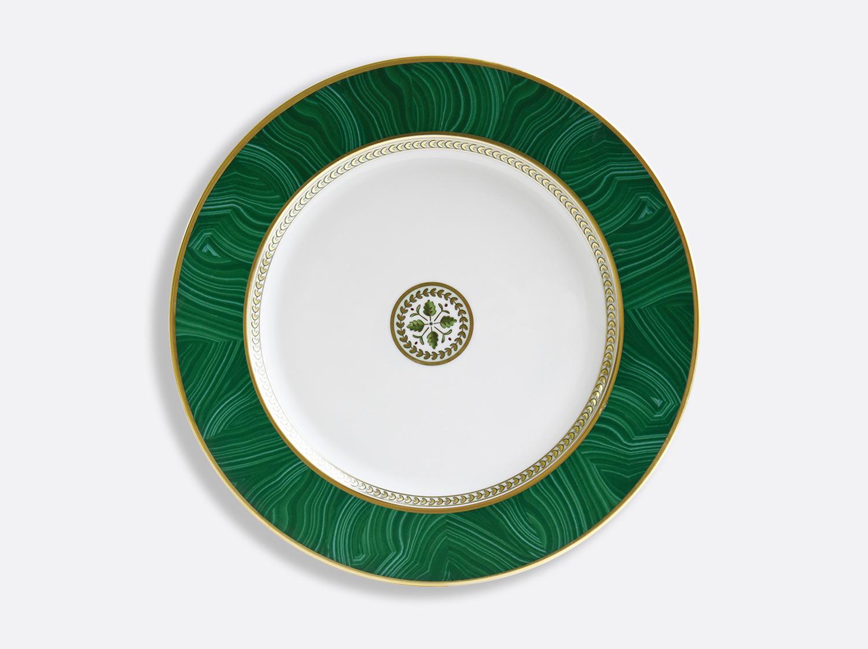 China Service plate 29,5 cm of the collection Constance Malachite | Bernardaud