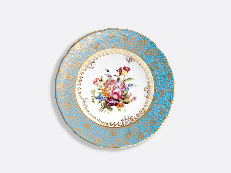 Assiette à dessert 21 cm en porcelaine de la collection Eden Bouquet Bernardaud