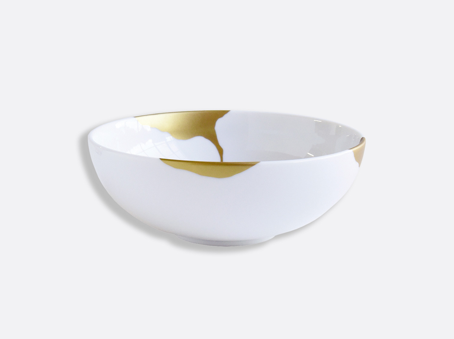 Bol 17 cm H. 7 cm en porcelaine de la collection Kintsugi Bernardaud