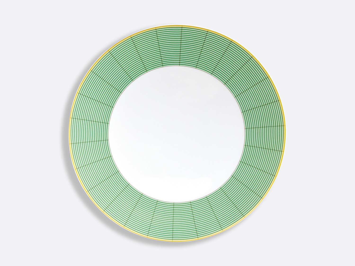 China Ultra flat plate 12.2'' of the collection Jardin indien | Bernardaud