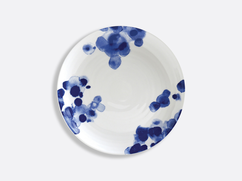 Assiette coupe 21 cm en porcelaine de la collection Ondée Bernardaud