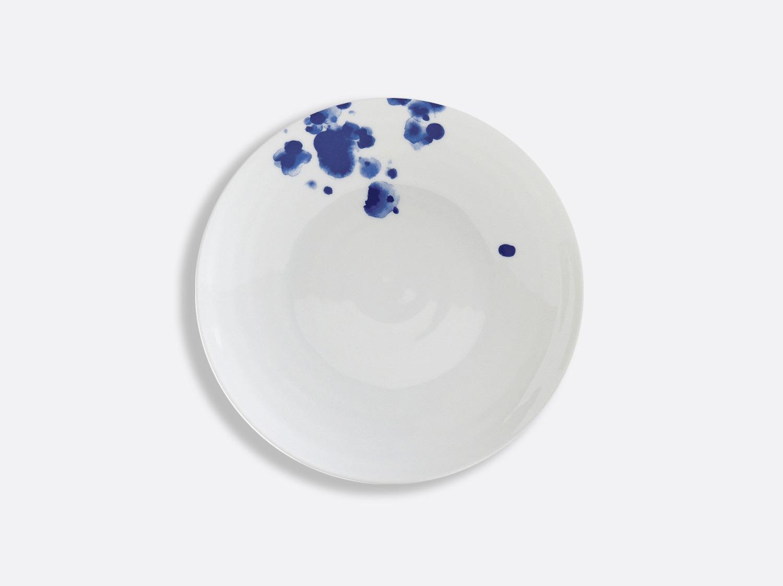 Assiette coupe 16 cm en porcelaine de la collection Ondée Bernardaud