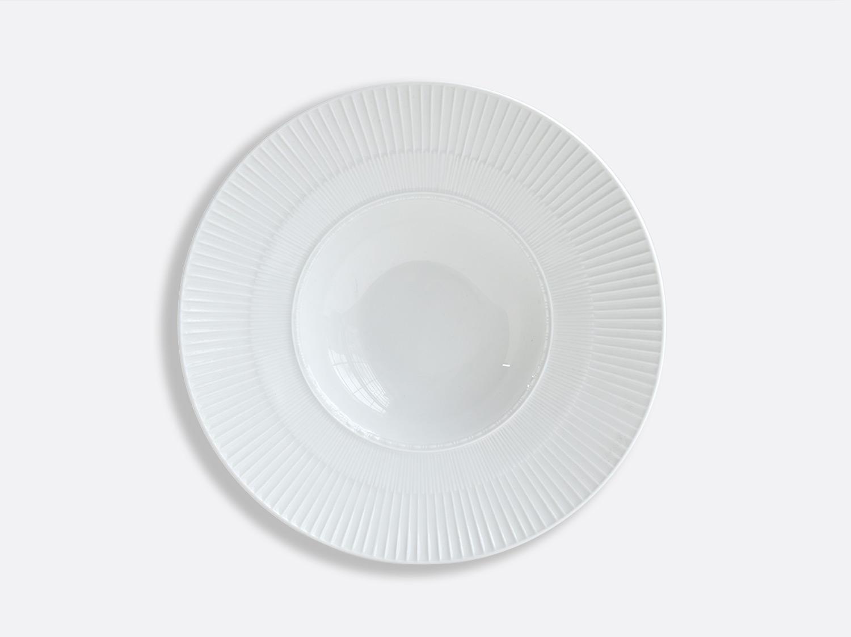 Assiette creuse à aile large Marly 27 cm en porcelaine de la collection Louvre Bernardaud