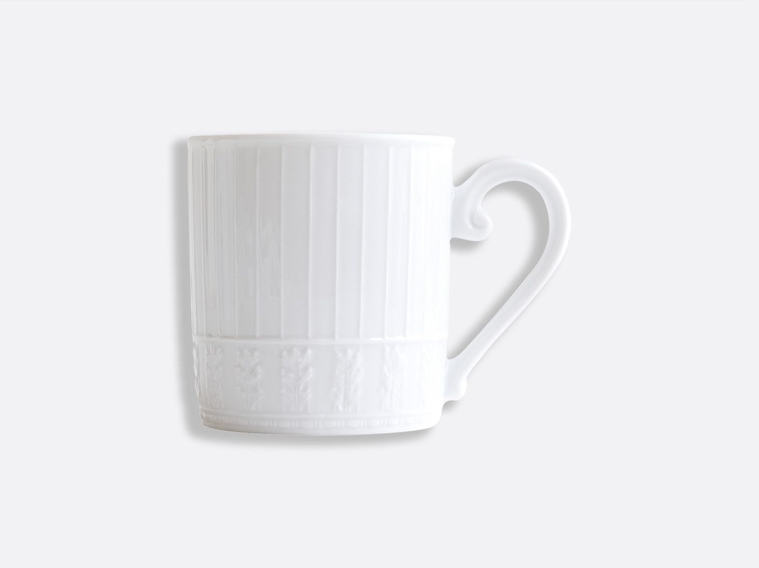 Mug Marly en porcelaine de la collection Louvre Bernardaud