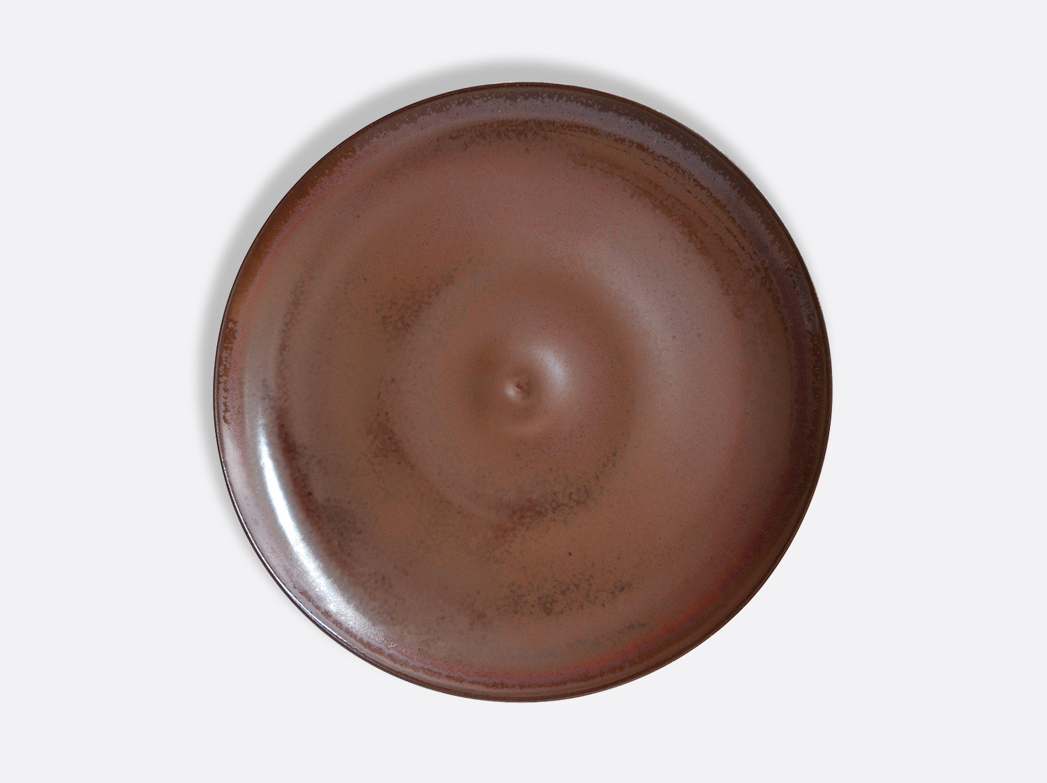 Assiette Bulle Castanon 27 cm en porcelaine de la collection Castanon Bernardaud