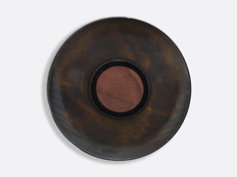 Assiette coupe Ecaille 29,5 cm en porcelaine de la collection Iris Ecaille Bernardaud