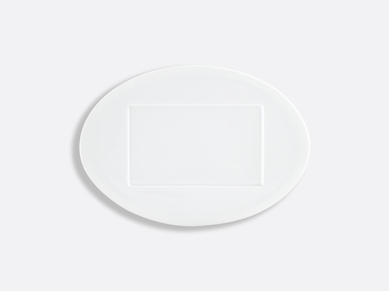 Assiette Millefeuille 26,5 cm en porcelaine de la collection Lounge Blanc Bernardaud