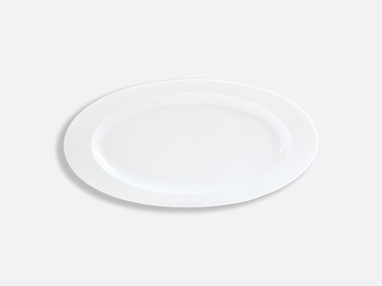 China Oval plate 35.5 cm of the collection Lounge Blanc   Bernardaud
