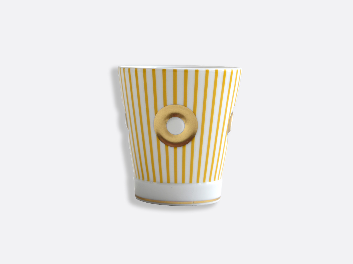China Goblet 25 cl yellow of the collection Delphos - Olivier Gagnère | Bernardaud