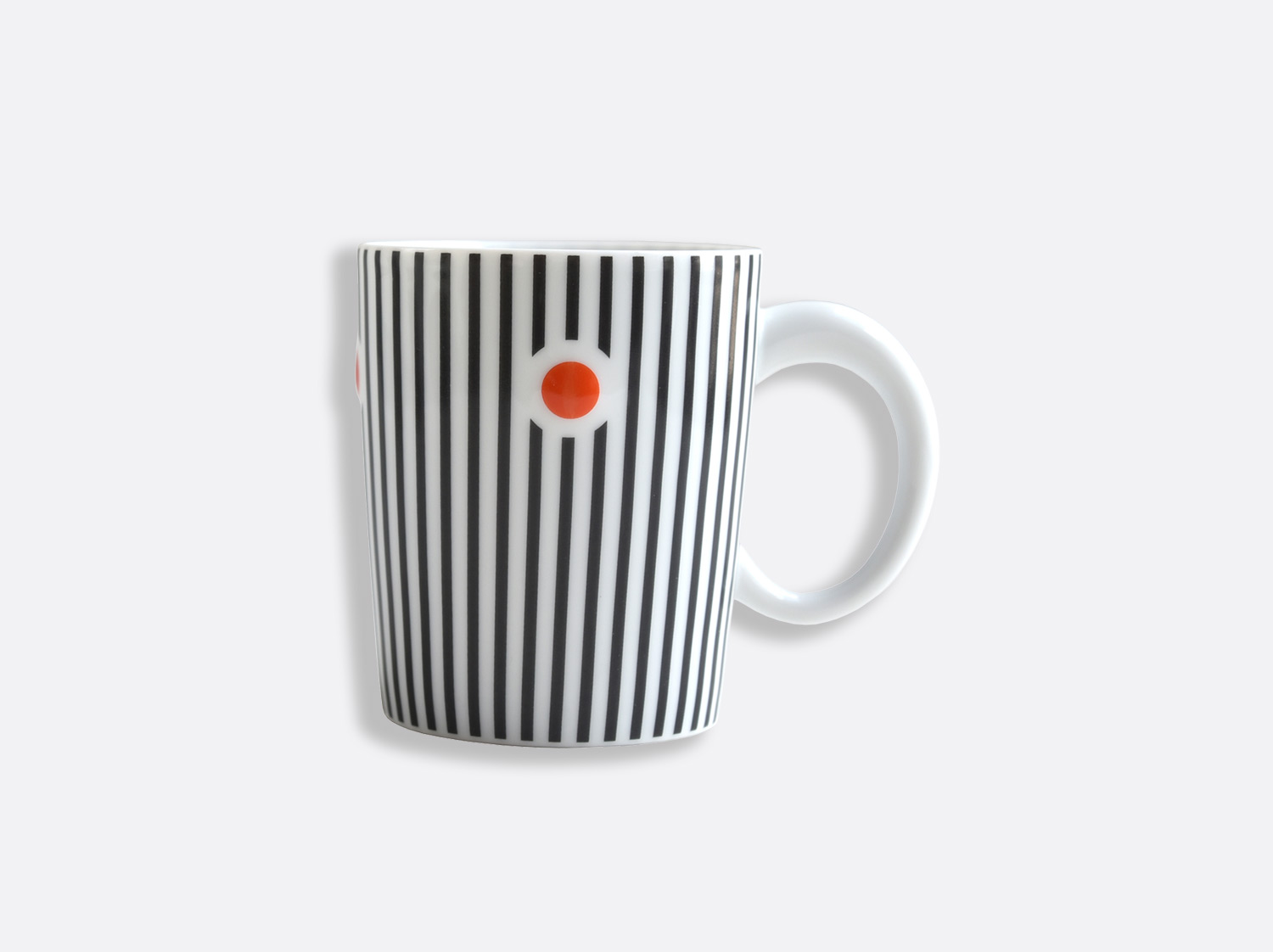 Mug 25 cl anthracite en porcelaine de la collection Delphos - Olivier Gagnère Bernardaud