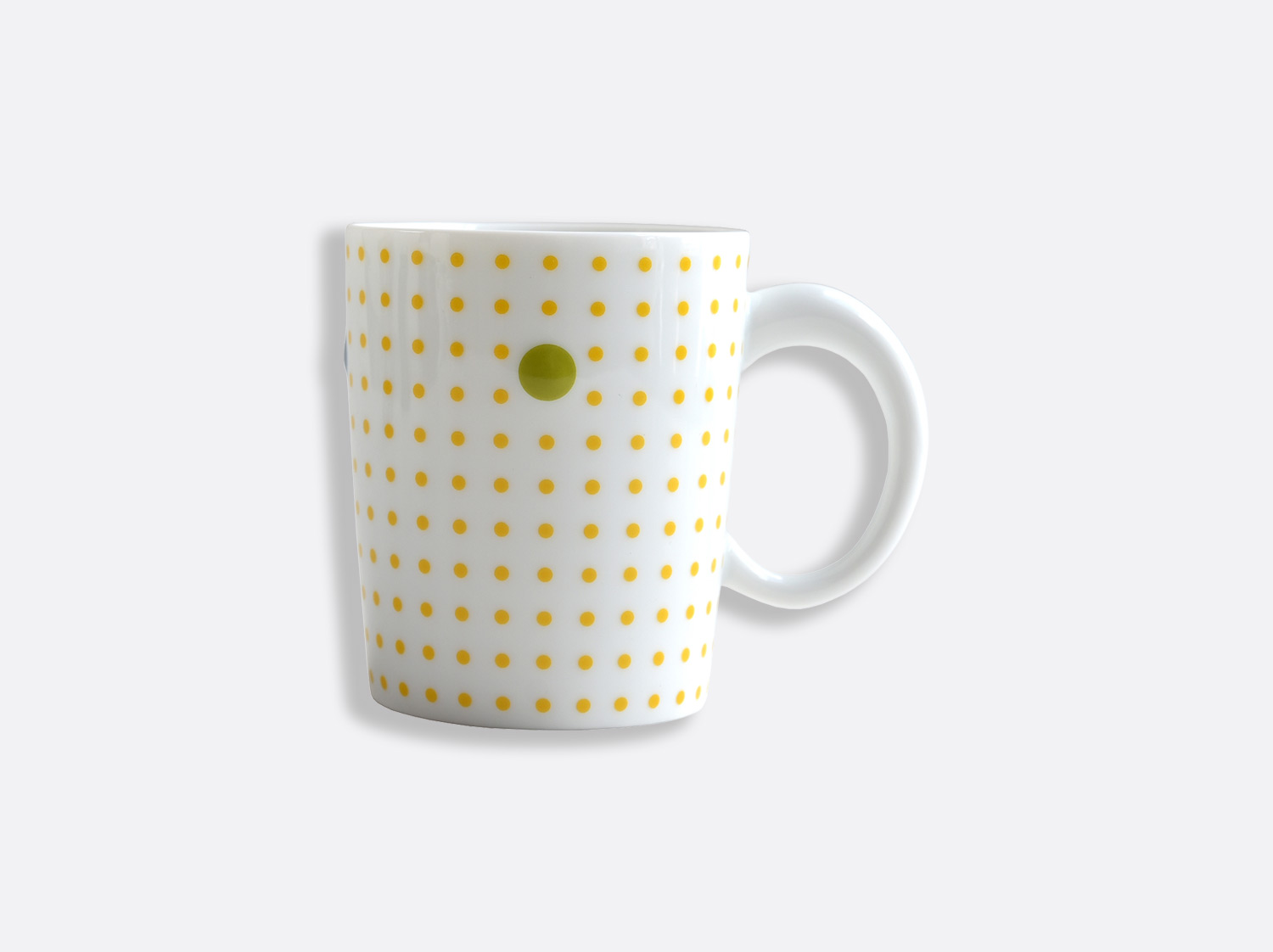 Mug 25 cl jaune en porcelaine de la collection Knossos - Olivier Gagnère Bernardaud