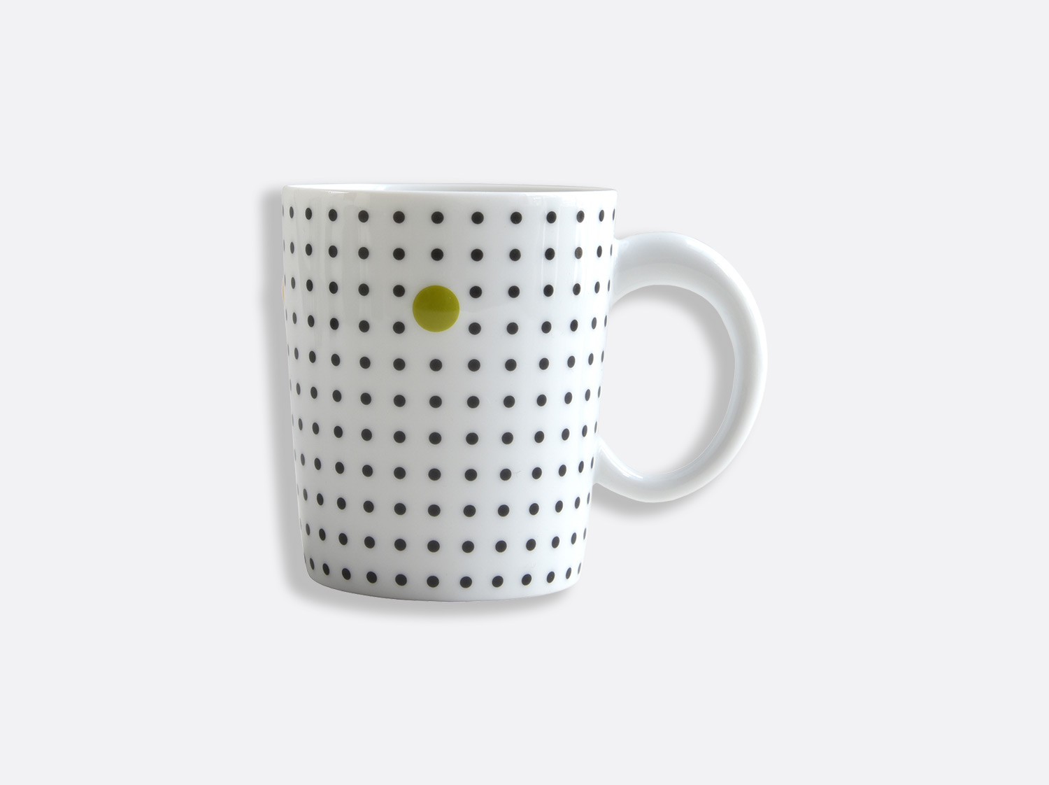 Mug anthracite 25 cl en porcelaine de la collection Knossos - Olivier Gagnère Bernardaud