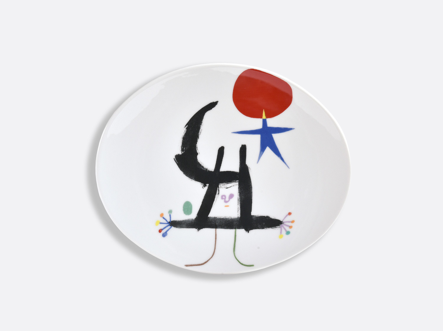 China 6 Tapas plates - Page 65 of the collection PARLER SEUL - Joan Miro | Bernardaud