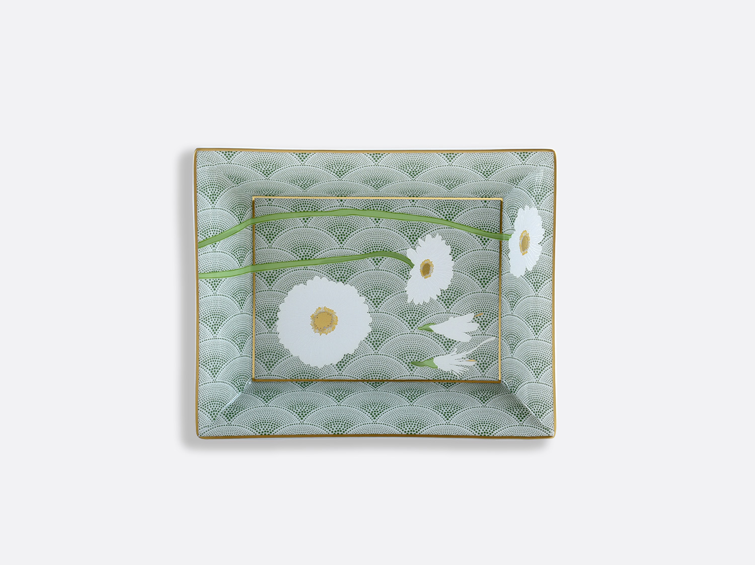 China Valet Tray 20 x 16 cm of the collection PRAIANA | Bernardaud