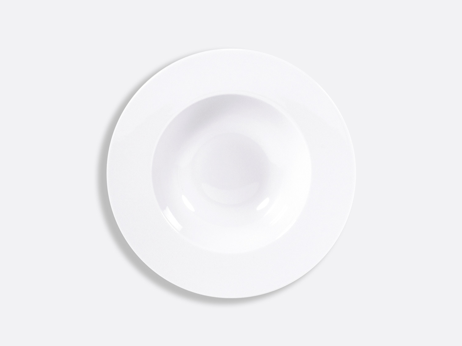 China Rim soup 22 cm of the collection Astre blanc | Bernardaud