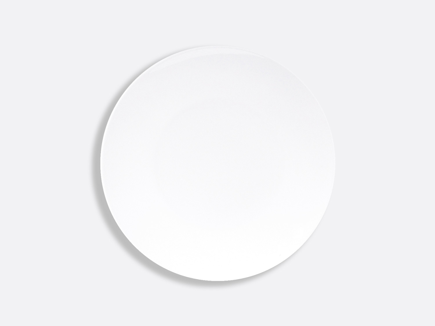 China Coupe plate 23.3 cm of the collection Domus blanc | Bernardaud
