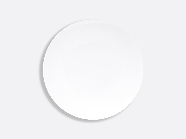 Assiette coupe 23,3 cm en porcelaine de la collection DOMUS BLANC Bernardaud