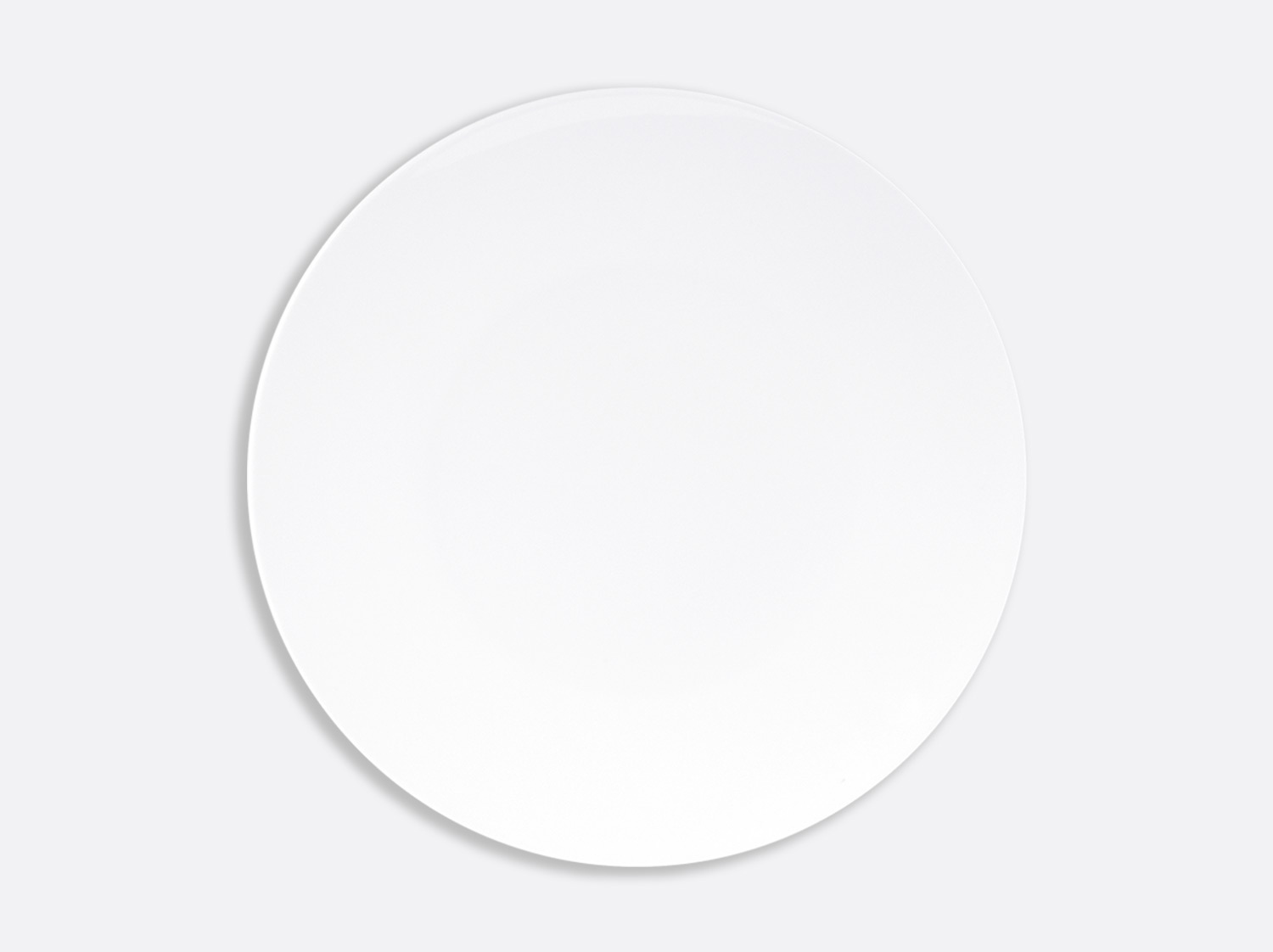 Assiette ultra plate 29,5 cm en porcelaine de la collection DOMUS BLANC Bernardaud