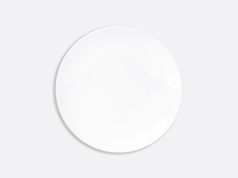 Assiette ultra plate 21 cm en porcelaine de la collection DOMUS BLANC Bernardaud