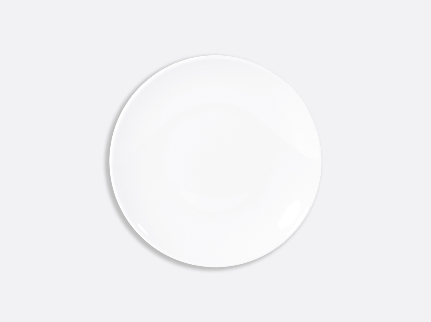 China Ultra flat plate 16 cm of the collection Domus blanc | Bernardaud