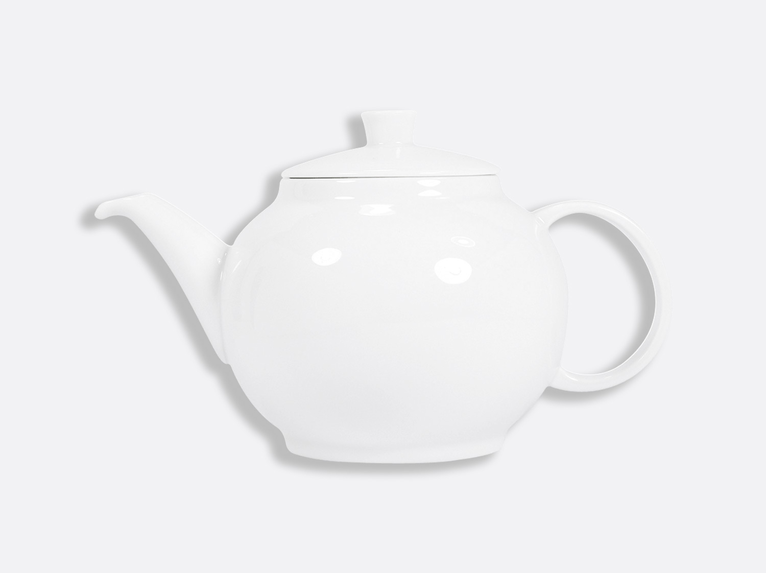 Théière Chinoise 1 L en porcelaine de la collection DOMUS BLANC Bernardaud