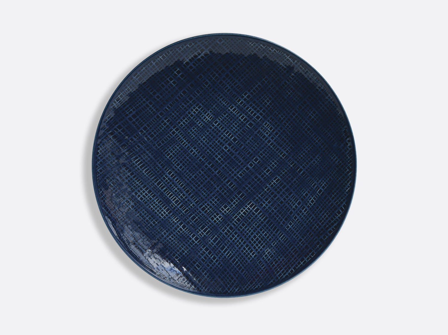 "China Blue Jean dinner plate 10.5"" of the collection ORGANZA BLEU JEANS 
