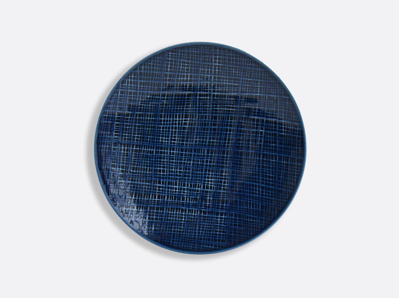 China Blue Jean salad plate 21 cm of the collection ORGANZA BLEU JEANS | Bernardaud