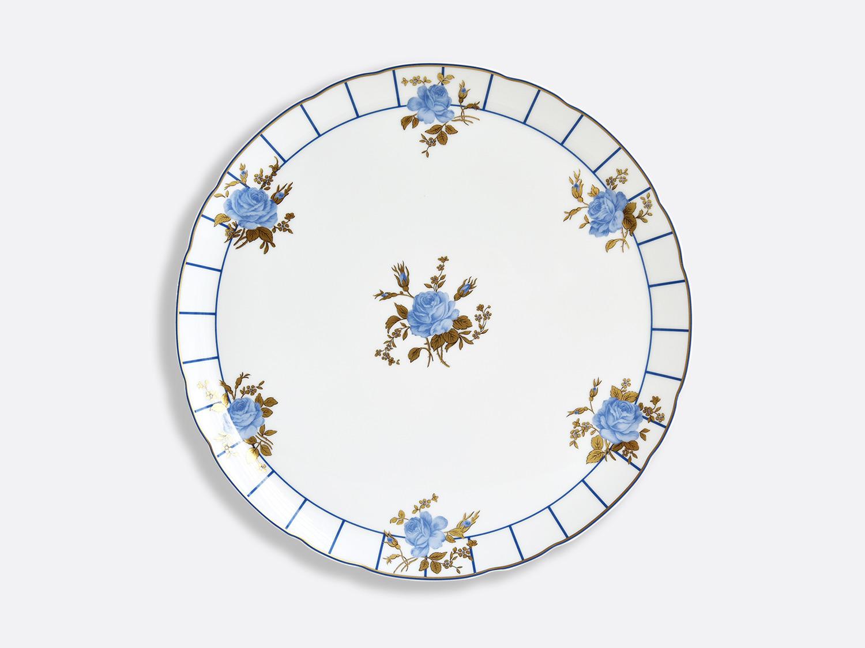 Plat à tarte 32 cm en porcelaine de la collection BROCANTE Bernardaud