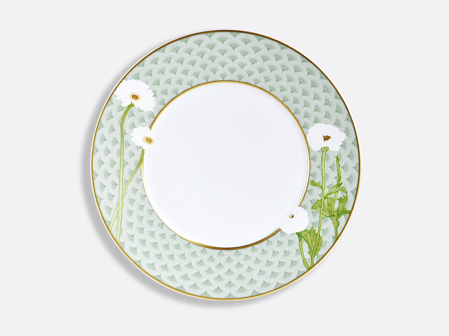 Assiette à dîner 27 cm en porcelaine de la collection PRAIANA Bernardaud