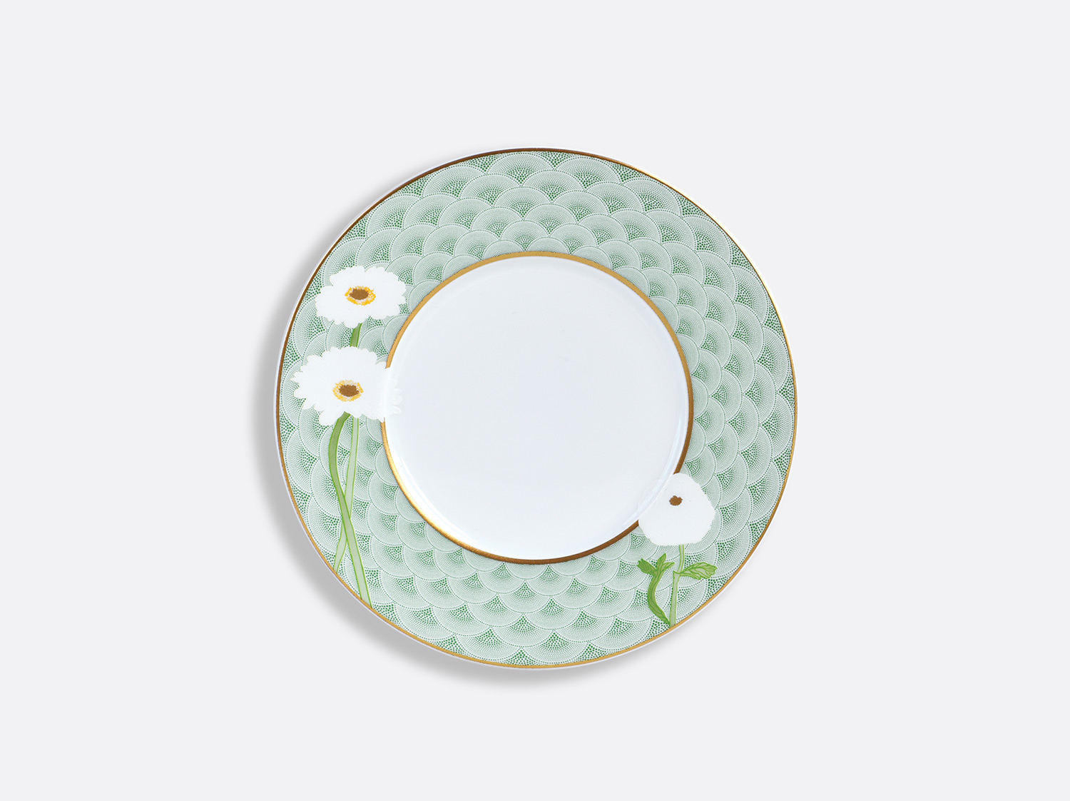 Assiette à pain 16 cm en porcelaine de la collection PRAIANA Bernardaud