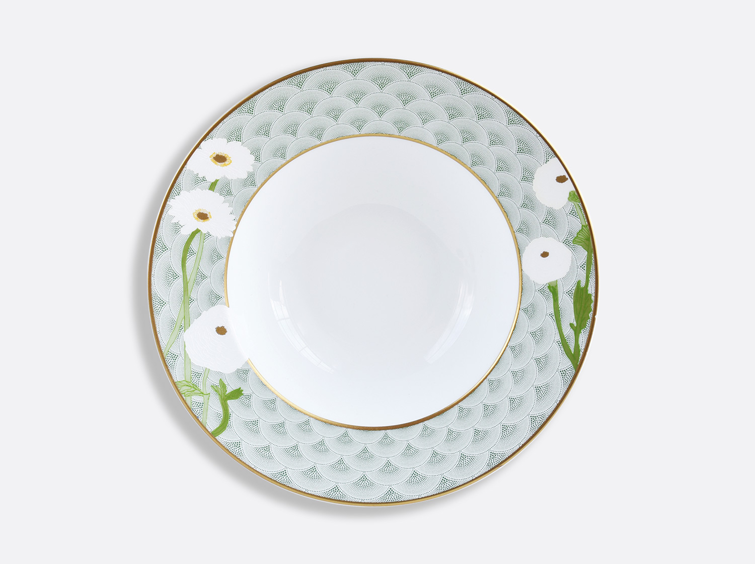 China Rim soup 22,5 cm of the collection PRAIANA | Bernardaud