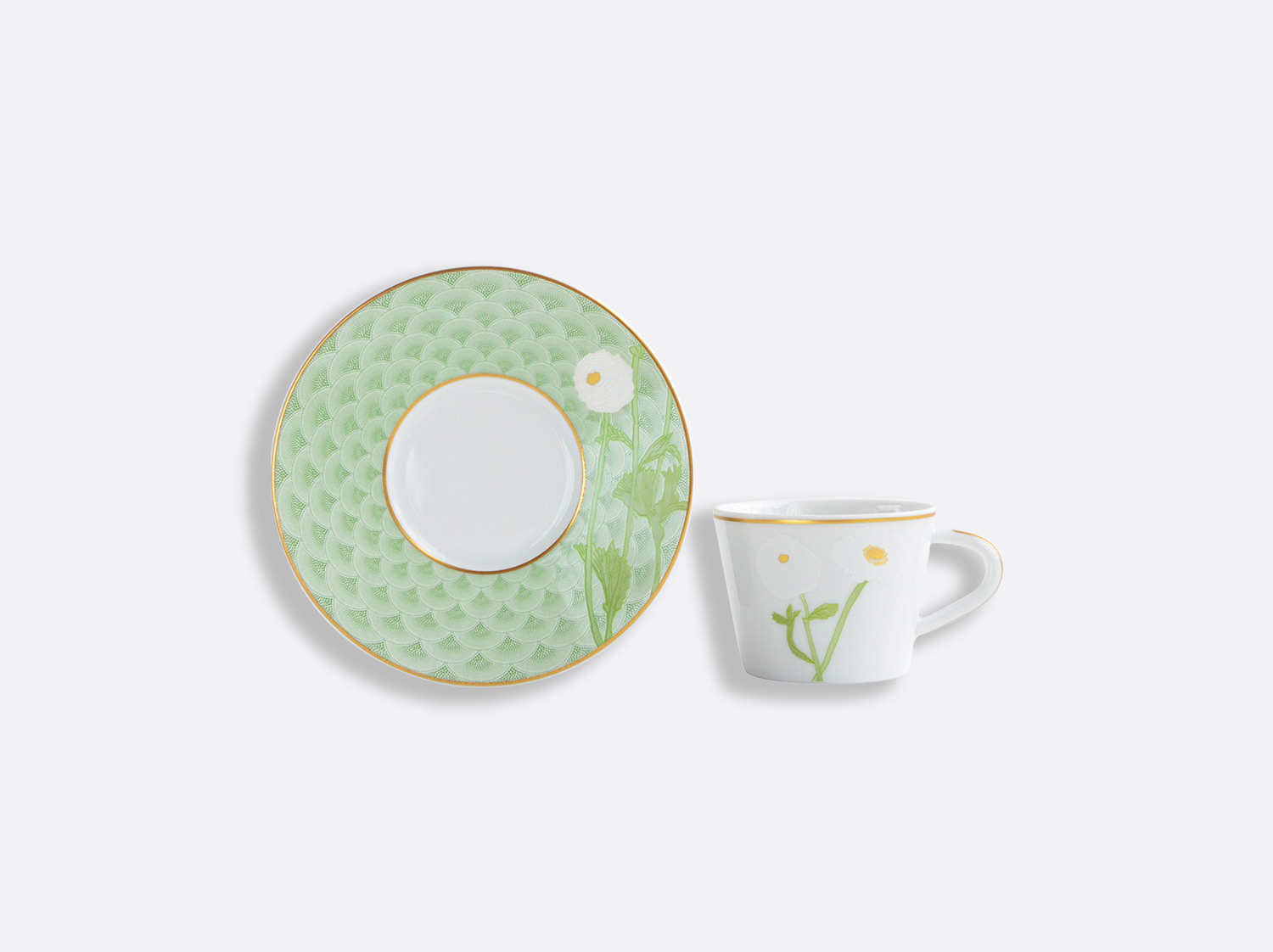 China Espresso cup and saucer 6 cl of the collection PRAIANA | Bernardaud