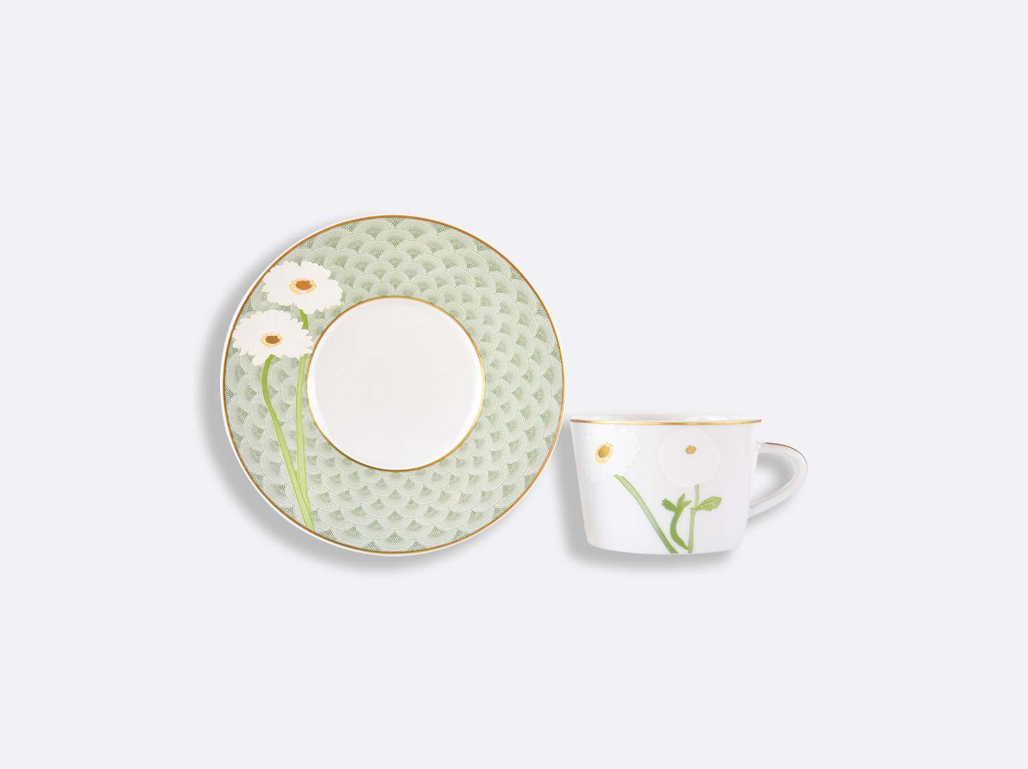 China Tea cup and saucer 15 cl of the collection PRAIANA | Bernardaud