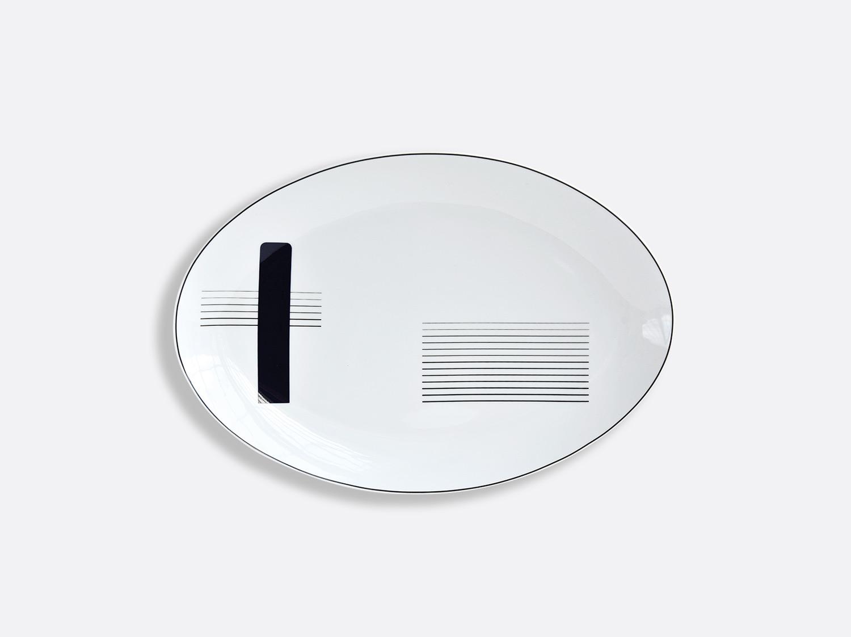 China Oval platter 15'' of the collection OSCAR | Bernardaud