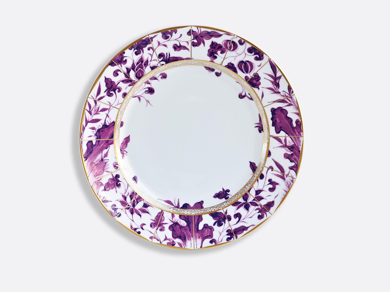 Assiette à dîner 26 cm en porcelaine de la collection PRUNUS Bernardaud
