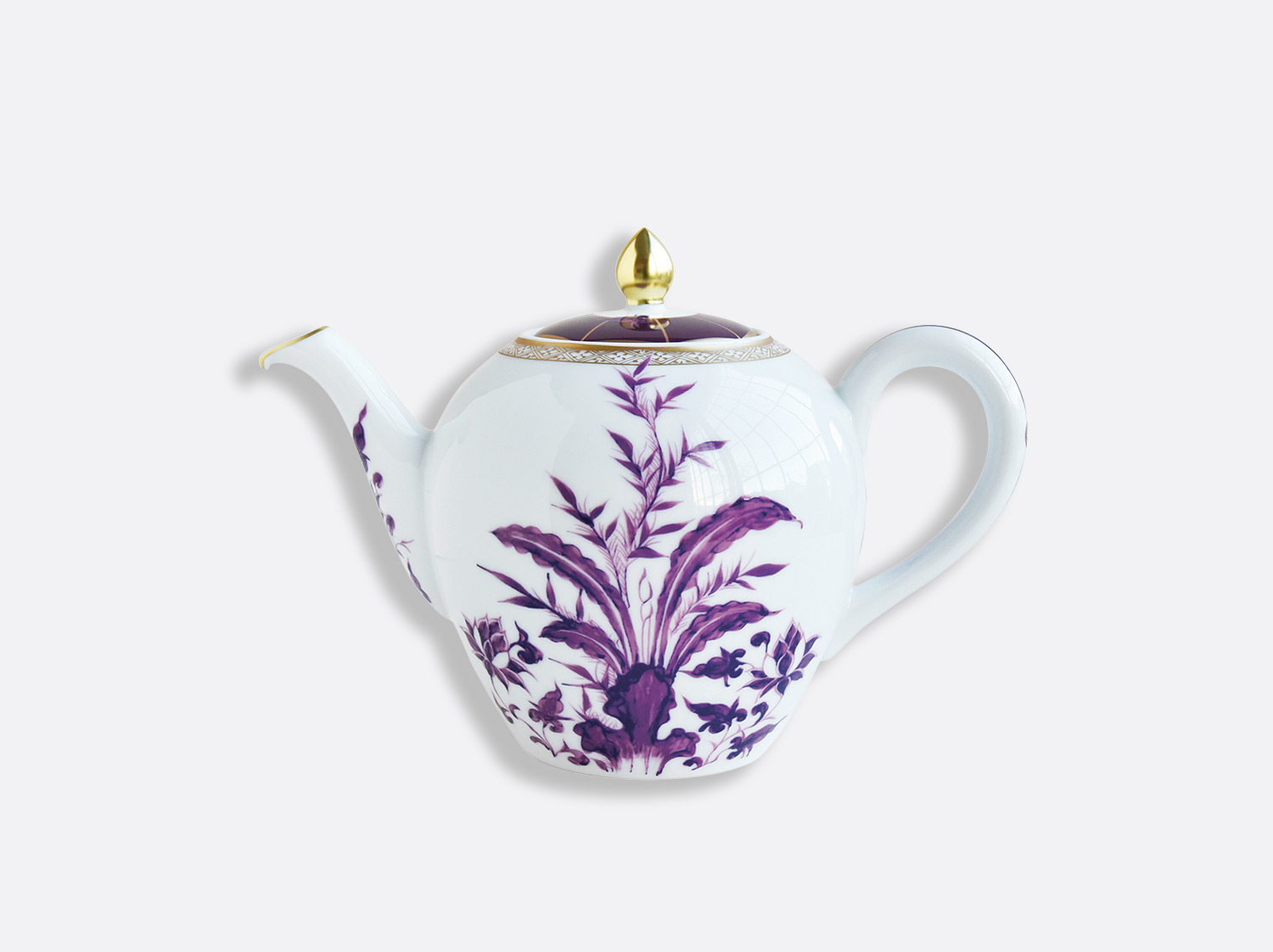 China Teapot 12 cups 1,25 L of the collection PRUNUS | Bernardaud