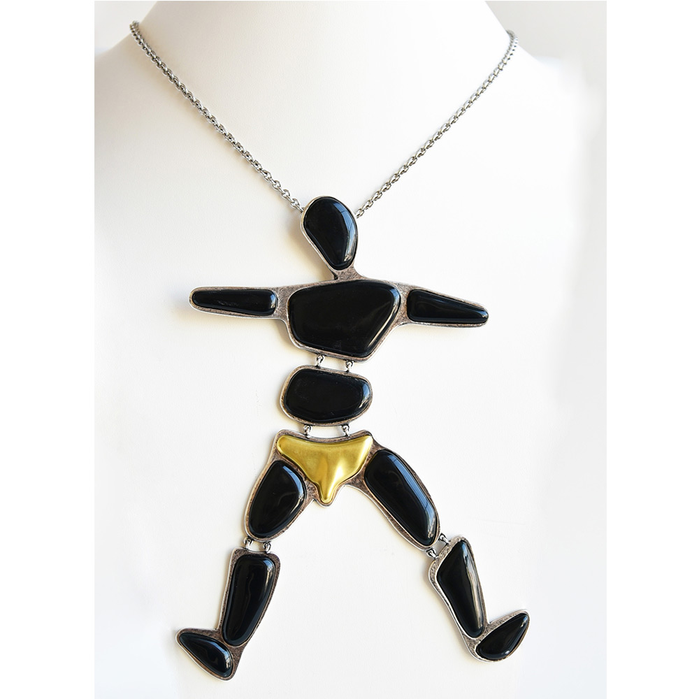 China Adam Long Necklace of the collection Be Bold Over | Bernardaud