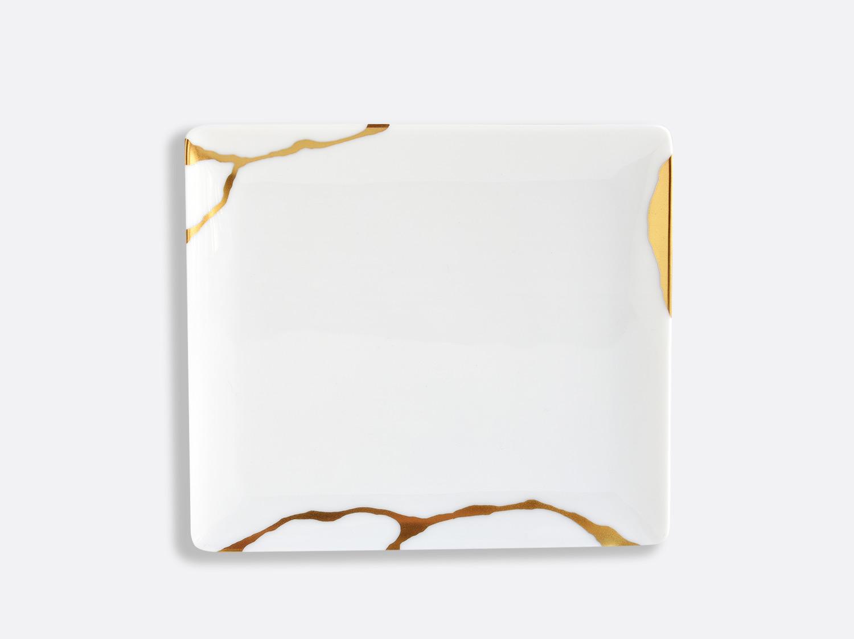 Plateau 17 x 15 cm en porcelaine de la collection KINTSUGI Bernardaud