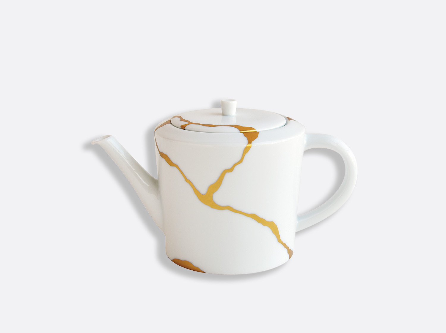 Théière 2 tasses 50 cl en porcelaine de la collection Kintsugi Bernardaud
