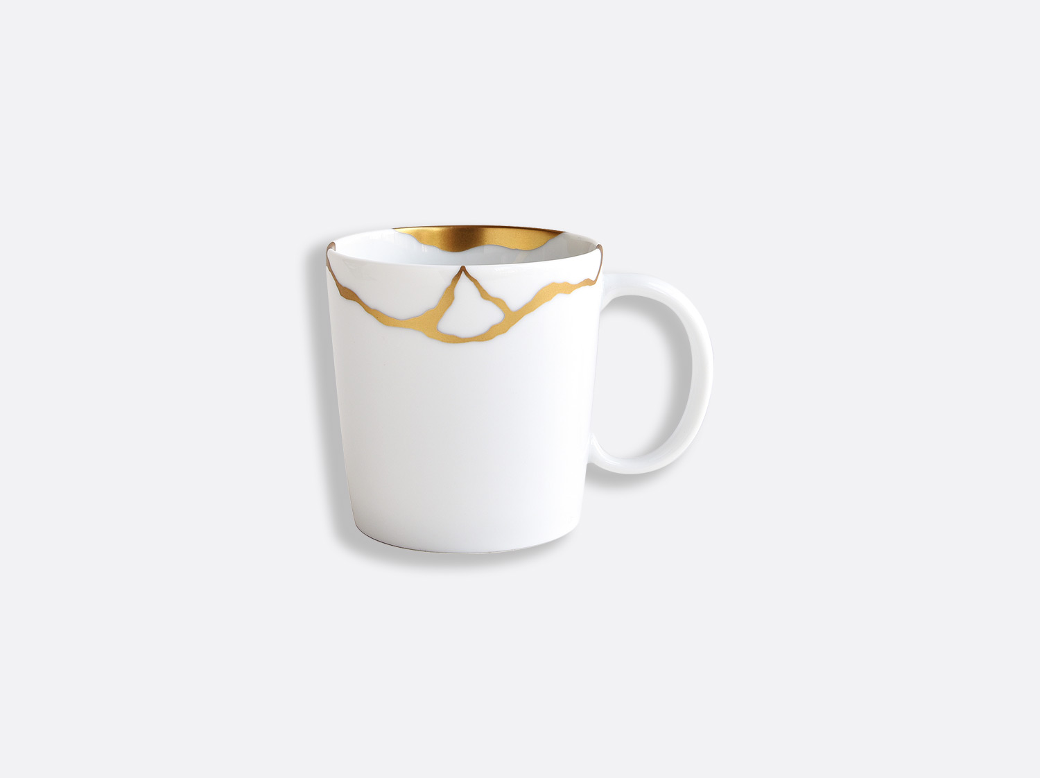 Mug 20 cl en porcelaine de la collection Kintsugi Bernardaud