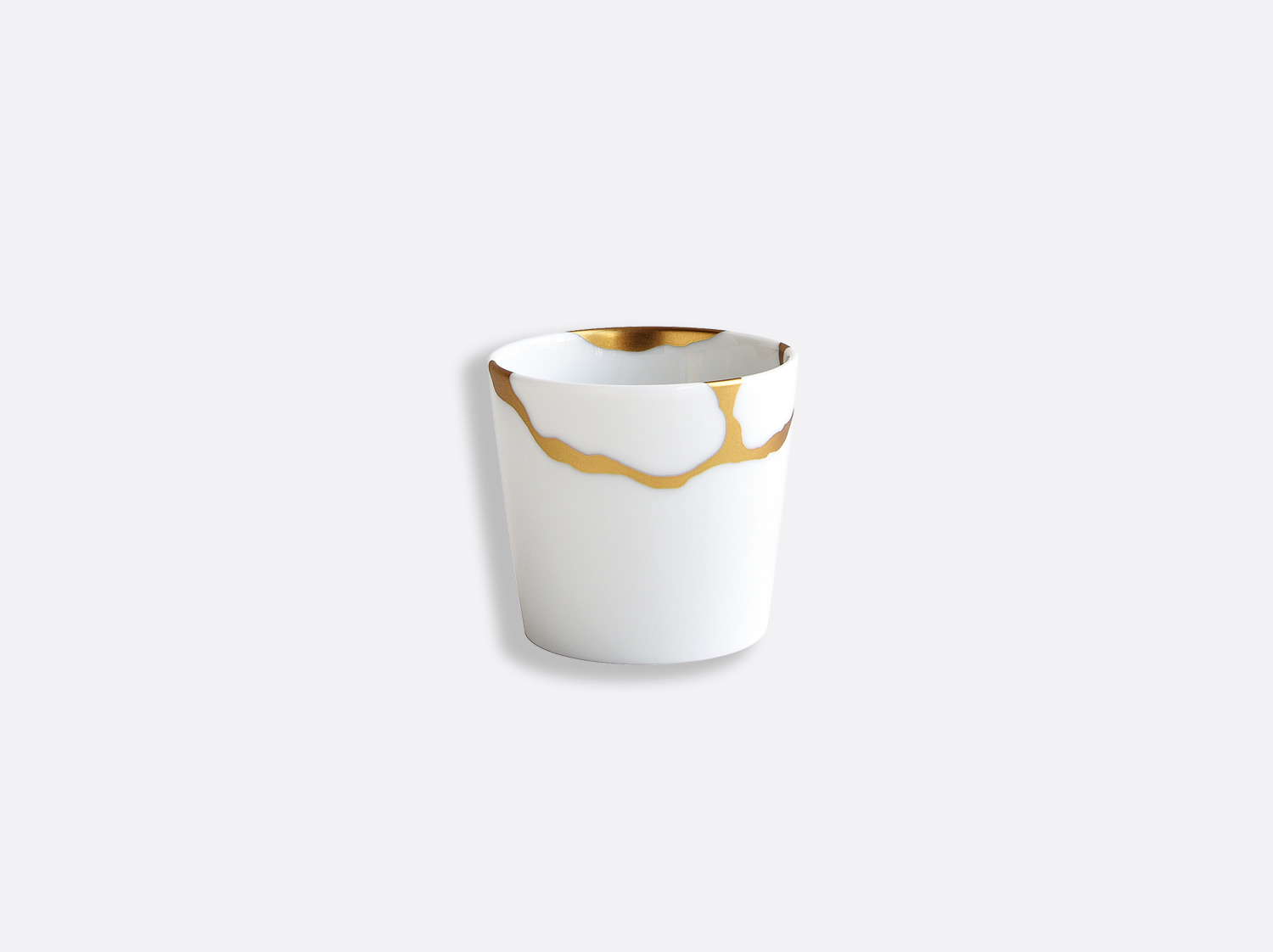 Sucrier 6 cl en porcelaine de la collection Kintsugi Bernardaud