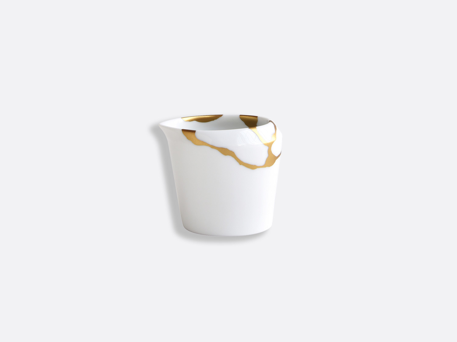 Crémier 8 cl en porcelaine de la collection Kintsugi Bernardaud