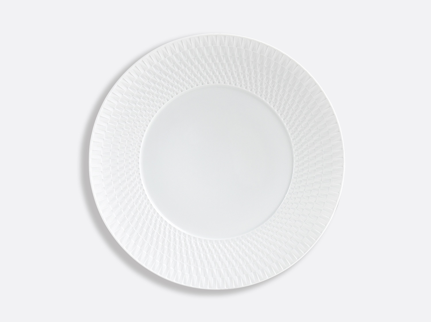 Assiette à dîner 26 cm en porcelaine de la collection Twist Bernardaud